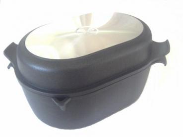 plasma titanová pekáč gerti gundel  33x22 + grilovací víko